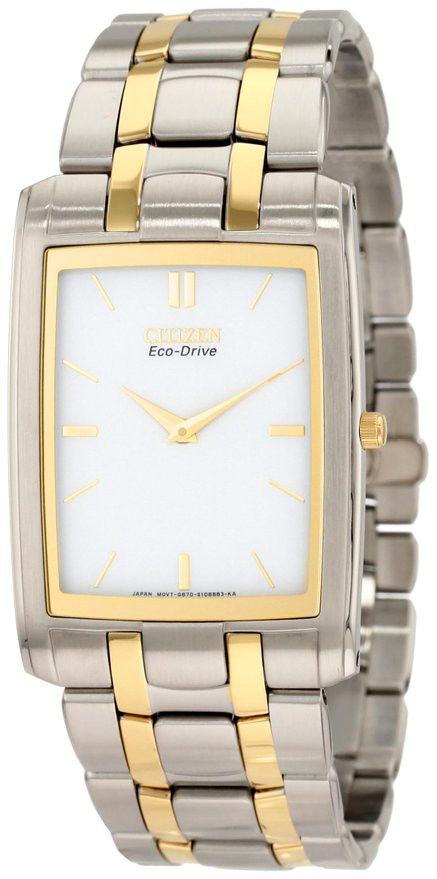 c83b4e1e06e Citizen Men s Eco Drive Stiletto Watch AR3034-59A