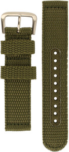 Seiko Khaki Nylon Replacement Watch Strap L00Y011J0 For SNE095P2