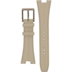 DKNY Watch Replacement White Leather Strap For NY4909