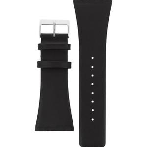 Skagen Black Leather Watch Strap For 567LSLB1