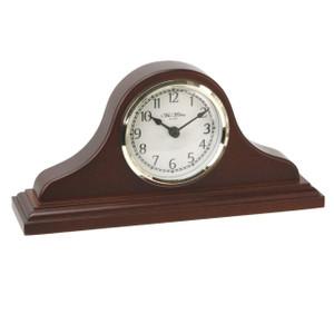 Widdop Napoleon Birch Wood Mantel Clock with Arabic Dial W9701