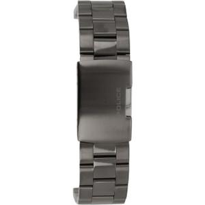 Police Replacement Watch Bracelet Gun Metal Grey For 14343JSUB/02M
