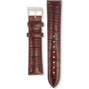 Hugo Boss Replacement Watch Strap Brown Leather HB.84.1.14.2184 and HB.241.1.14.2758