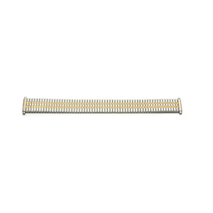 Replacement 18mm Silver And Gold Tone Expander Bracelet