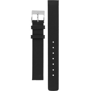 Skagen Replacement Watch Strap Black Genuine Leather 14mm For 358SSLB
