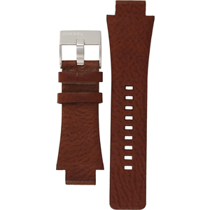 Diesel Replacement Watch Strap Brown Leather 18mm For DZ1175