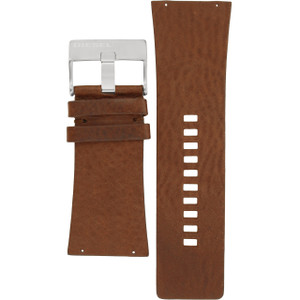 Diesel Replacement Watch Strap Brown Leather 35mm For DZ7071