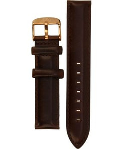 Daniel Wellington Replacement Watch Strap Brown Genuine Leather 18mm Classic Bristol 0711DW