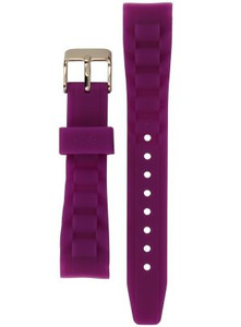 Ice-watch Replacement Strap Flourescent Purple with Free Pins [Small]