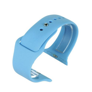 Apple Watch Replacement Strap BLue Silicone 42mm