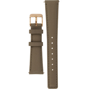 Radley Replacement Watch Strap Grey Leather 18mm For RY2248