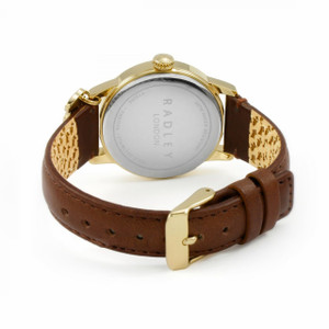 Radley Replacement Watch Strap Brown Leather 18mm For RY2360 With Free Pins