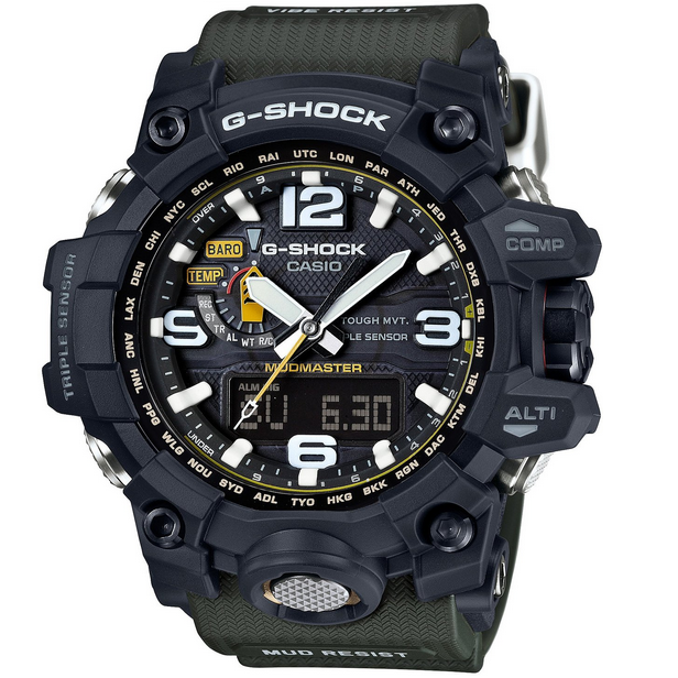 fc6c0082d09 Casio G-Shock Mudmaster GWG-1000-1A3ER Triple Sensor Watch