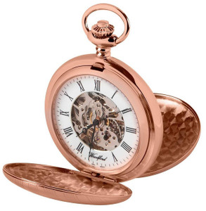 Woodford Skeleton Full Hunter Pocket Watch With Free Engraving 1090