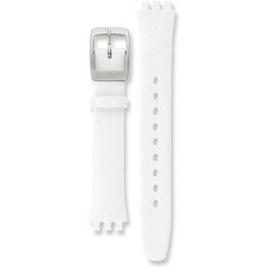 Swatch Irony Replacement Watch Strap Leather AYSS267