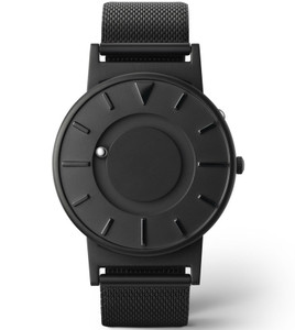 Eone Bradley Braille Tactile Watch For Blind Black Mesh