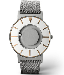 Eone Bradley Braille Tactile Watch For Blind Compass Graphite Gold