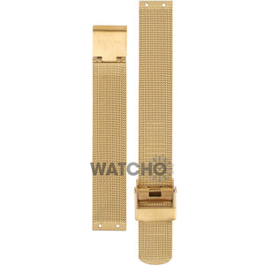 Skagen Replacement Watch Strap Gold Mesh For 358SGGD