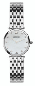 Michel Herbelin Ladies Epsilon Watch Silver 1045/B59