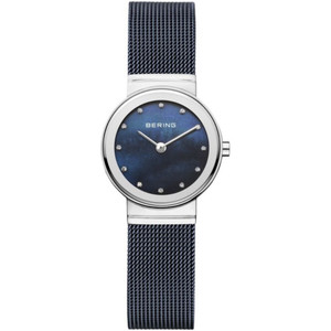 Bering Ladies Classic Blue MotherOf Pearl Watch 10126-307