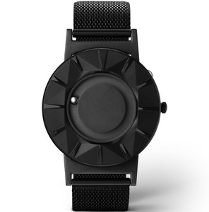 Eone Bradley Element Ceramic Braille Watch Black Mesh BR-CE-B