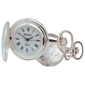 Woodford Pendant Full Hunter Watch  With Free Engraving 1201