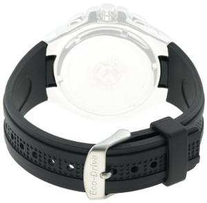 Citizen Genuine Replacement 13mm Black Rubber Strap For BL5334-04E
