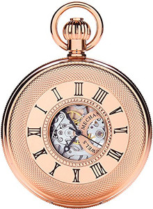 Royal London Half Hunter Mechanical Pocket Watch 90048-03