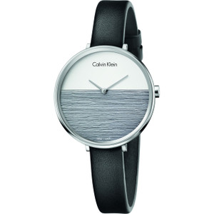 Calvin Klein Ladies' Rise Watch with Silver Dial K7A231C3