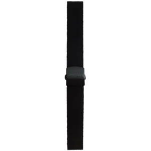 Mondaine Replacement Watch Strap Black Rubber Sport 20mm FE1622020B1 For Stop2Go Watches