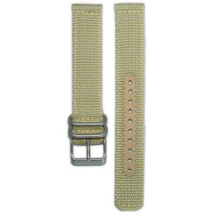 Seiko Replacement Strap Beige Nylon 18mm 4K10JZ For SNK803K2