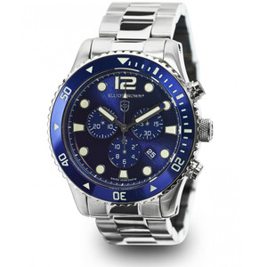 Elliot Brown Bloxworth Mens Stainless Steel Blue Watch 929-003-B01