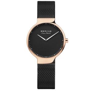 Bering Ladies Max Rene Designed Black Stainless Steel Watch 15531-262