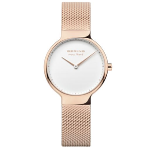 Bering Ladies Max Rene Designed Rose Gold Stainless Steel Watch 15531-364