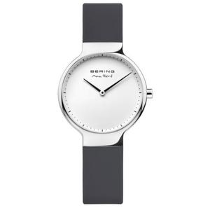 Bering Ladies Max Rene Designed Black Rubber Watch 15531-400