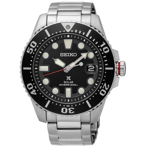 Seiko Prospex Mens Solar Powered Divers Watch SNE437P1