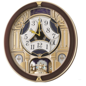 Seiko Clocks Musical Marionette Wall Clock QXM356B