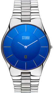 STORM London Slim-X XL Laser Blue Men's Bracelet Watch