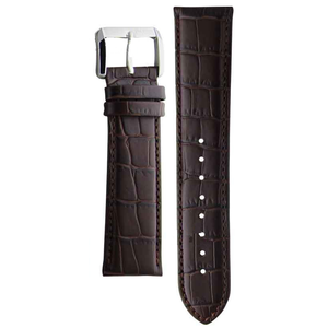 Hugo Boss Replacement Watch Strap Brown Genuine Leather 22mm HB 140.1.14.2369 with Free Connecting Pins