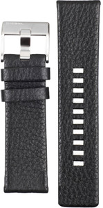 Diesel Replacement Watch Strap For DZ4190 Black Leather