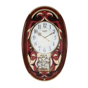 Rhythm Magic Motion Pendulum Wall Clock 4MJ430WT01