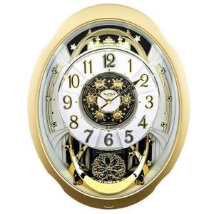 Rhythm Marvelous Magic Motion Clock Rotating Penddulum Wall Clocks 4MH842WD18