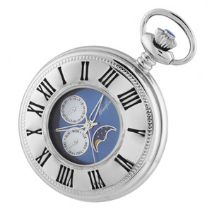 Woodford Moon Dial Pocket Watch 1248