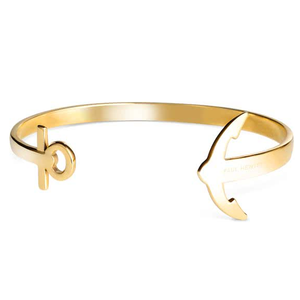 Paul Hewitt Ladies Ancuff Gold Bracelet Medium PH-CU-G-M