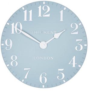 Thomas Kent  Arabic Wall Stonewash Blue Small 30cm Designer Wall Clock CK12157