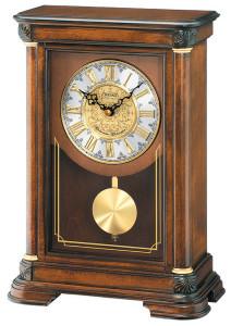 Seiko Westminster and Whittington Chimes Pendulum Mantel Clock QXQ008B