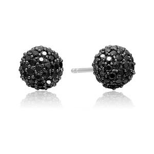 Sif Jakobs Earrings Bobbio With Black Zirconia