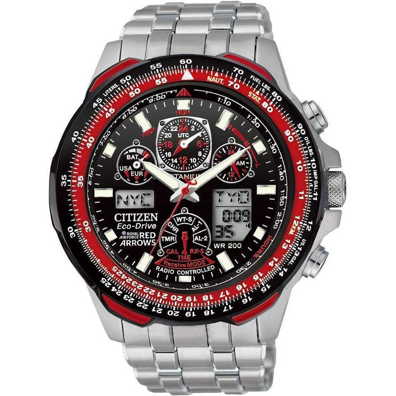 c77c283ba Citizen JY0110-55E Red Arrows Skyhawk AT Titanium Watch | WatchO™