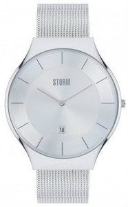 Storm Reese XL Stainless Steel Silver Men's Watch