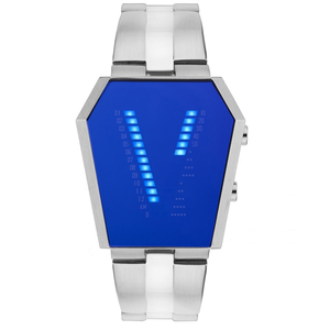 Storm Vaultron Stainless Steel Blue Men's Watch